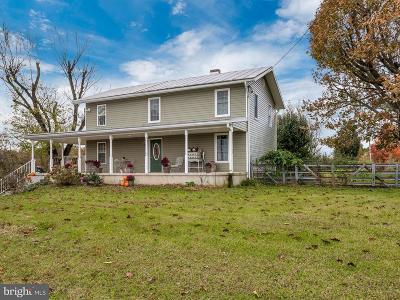 Keymar Single Family Home For Sale: 6535 Keysville Road