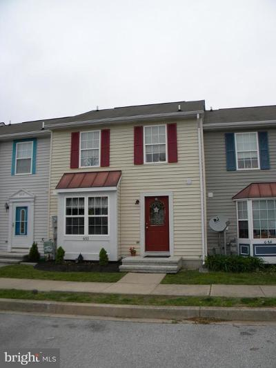 Hampstead Townhouse For Sale: 651 Boxwood Drive