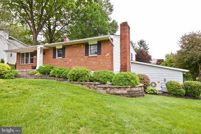 Sykesville, Eldersburg Single Family Home For Sale: 6019 Fairfield Lane