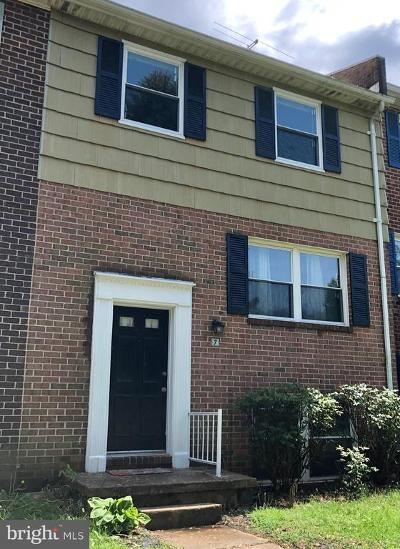 Westminster Townhouse For Sale: 7 W Middle Grove Court