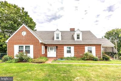 Westminster Single Family Home Under Contract: 555 Washington Road