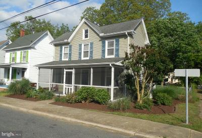 Cambridge MD Single Family Home For Sale: $189,900