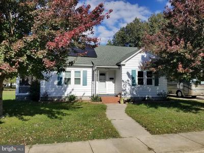 Cambridge MD Single Family Home For Sale: $169,900