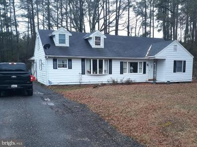 Dorchester County Single Family Home For Sale: 2579 Toddville Road