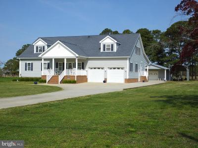 Dorchester County Single Family Home For Sale: 2818 Hoopers Island Road