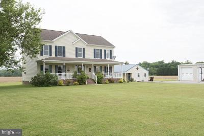 Hurlock Single Family Home For Sale: 5052 River Road