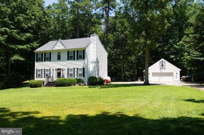 Hurlock Single Family Home For Sale: 3844 Wrights Wharf Road