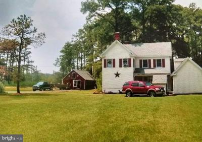 Dorchester County Single Family Home For Sale: 1861 Tedious Creek Road