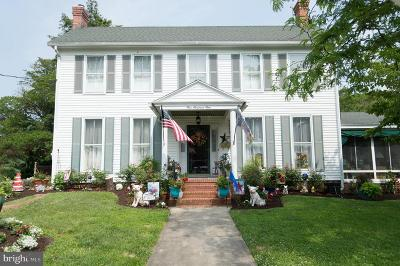 Cambridge MD Single Family Home For Sale: $299,900