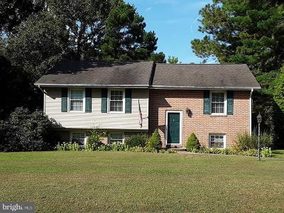 Dorchester County Single Family Home For Sale: 5408 Bonnie Brook Road
