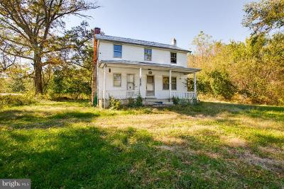 Frederick County Single Family Home For Sale: 15854 Saint Anthony Road