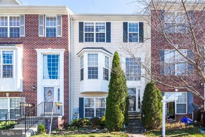Frederick Townhouse For Sale: 218 Timber View Court