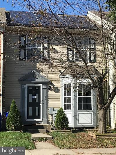 Frederick Townhouse For Sale: 1231 Dahlia Lane