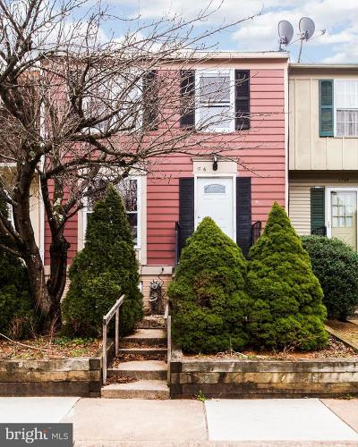 Frederick Townhouse For Sale: 1726 Worthington Court