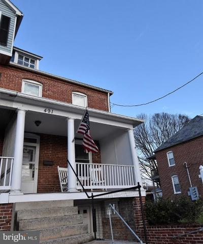 Frederick Single Family Home For Sale: 491 E Church Street