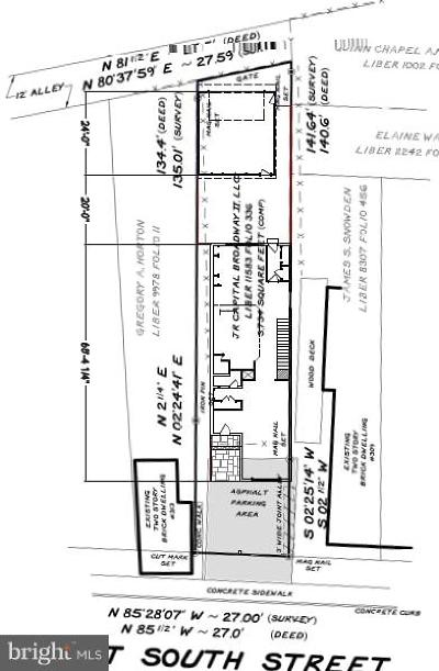 Frederick Residential Lots & Land For Sale: 311 W South Street