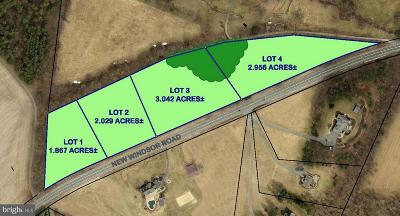 Residential Lots & Land For Sale: 12550 New Windsor Road