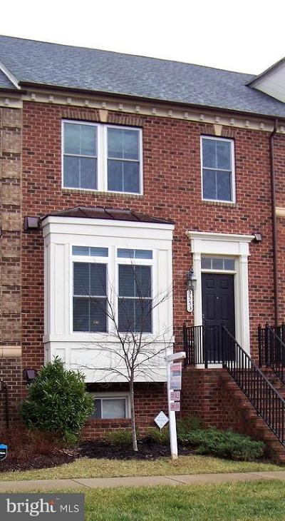 Frederick Townhouse For Sale: 3553 Katherine Way