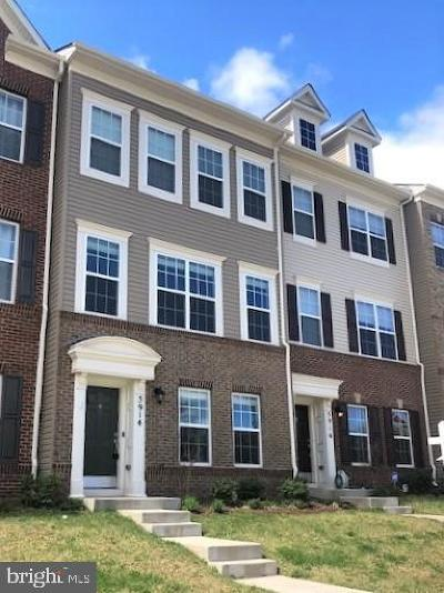 Frederick Townhouse For Sale: 5914 Jefferson Commons Way