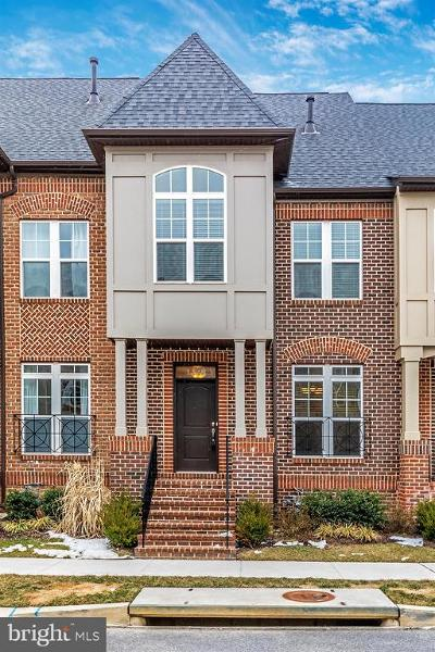 Frederick Townhouse For Sale: 1146 Holden Road