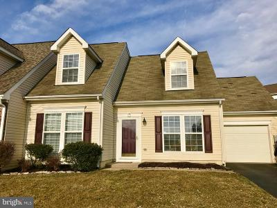 Thurmont Townhouse For Sale: 19 Geoley Court