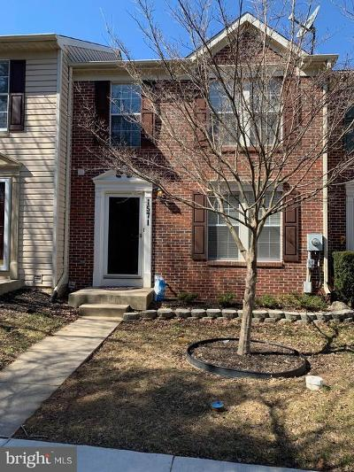 Frederick Townhouse For Sale: 1571 Beverly Court