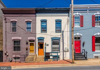 Frederick County Single Family Home Active Under Contract: 13 1/2 E South Street