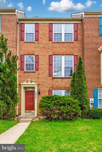 Frederick Townhouse For Sale: 1656 Wheyfield Drive