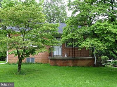 Frederick County Single Family Home Under Contract: 6701 Jefferson Boulevard