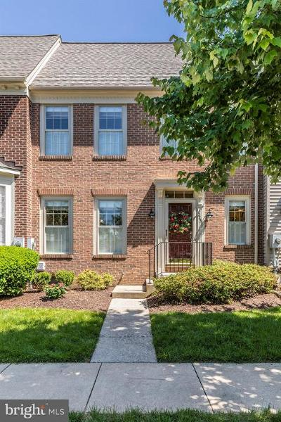 Frederick Townhouse For Sale: 2231 Village Square Road