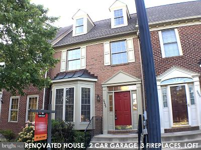 Frederick Townhouse For Sale: 2235 Village Square Road