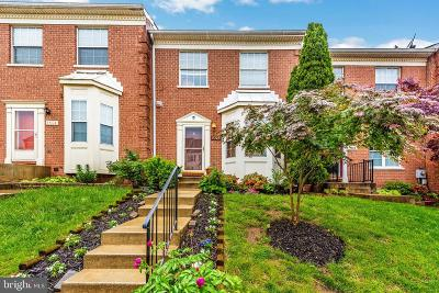 Frederick Townhouse For Sale: 5506 Upper Mill Terrace N