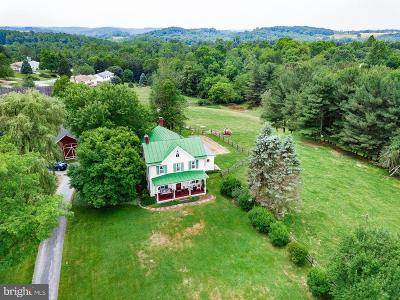Frederick Single Family Home For Sale: 11029 Old Annapolis Road