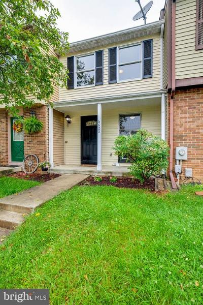 Frederick Townhouse For Sale: 6820 Yellow Sheave Court