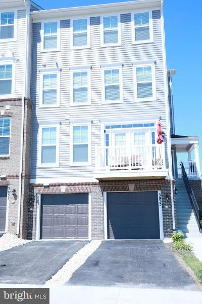 Frederick Townhouse For Sale: 5831 Bella Marie Way