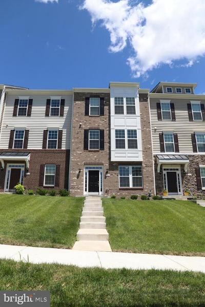 Frederick Townhouse For Sale: 7863 Wormans Mill Road