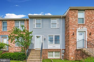 Frederick Townhouse Under Contract: 7033 Hames Court