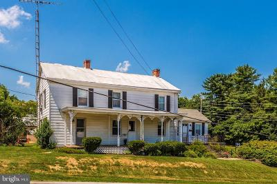 Myersville Single Family Home For Sale: 2 Wolfsville Road