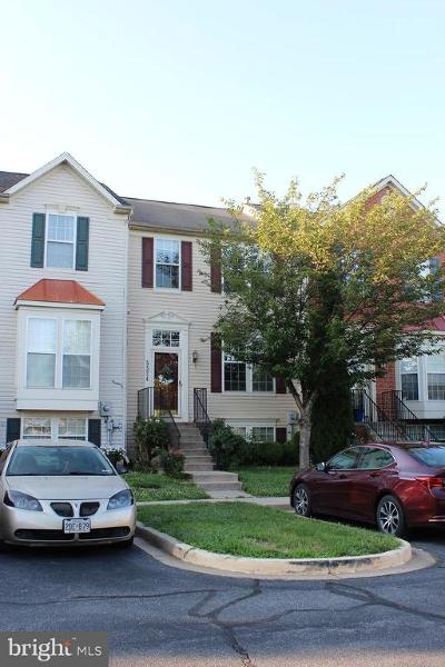 Frederick Townhouse For Sale: 5524 Upshur Square