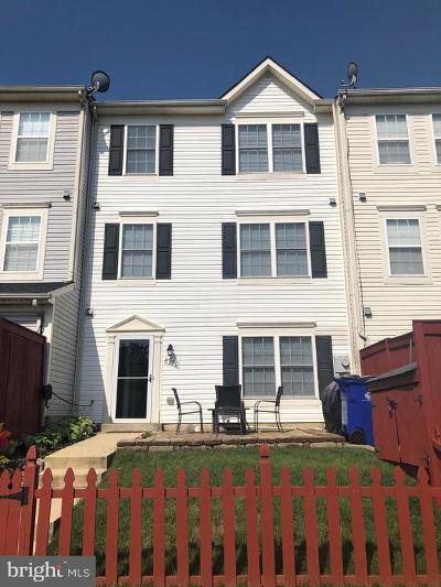 Frederick Townhouse For Sale: 4980 Clarendon Terrace