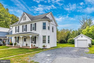 Walkersville Single Family Home For Sale: 12 E Frederick Street