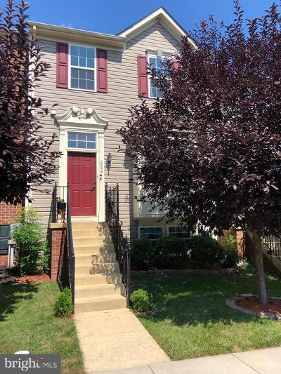 Frederick Townhouse For Sale: 2027 Spring Run Circle