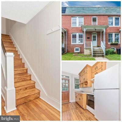 Frederick Townhouse For Sale: 815 Motter Avenue