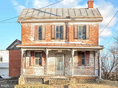 Frederick MD Single Family Home For Sale: $99,997