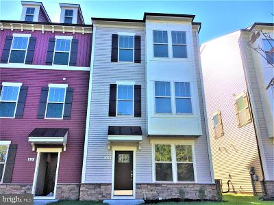 Frederick MD Townhouse For Sale: $322,990