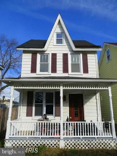 Havre De Grace Single Family Home Under Contract: 613 Franklin Street