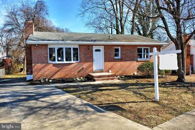 Havre De Grace Single Family Home For Sale: 107 Concove Way