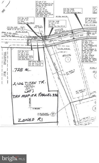 Havre De Grace Residential Lots & Land For Sale: 2106 Titan Terrace