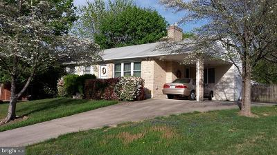 Bel Air Single Family Home For Sale: 1619 Cass Drive