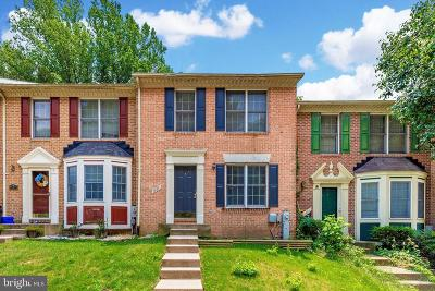 Bel Air Townhouse For Sale: 1323 Merry Hill Court